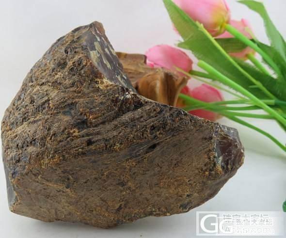 请这个是什么原石,大师们_琥珀
