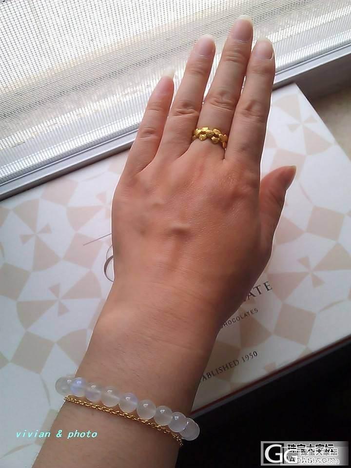 求升学,晒一下今天的行头,喜欢的同学..._吊坠手链月光石戒指金