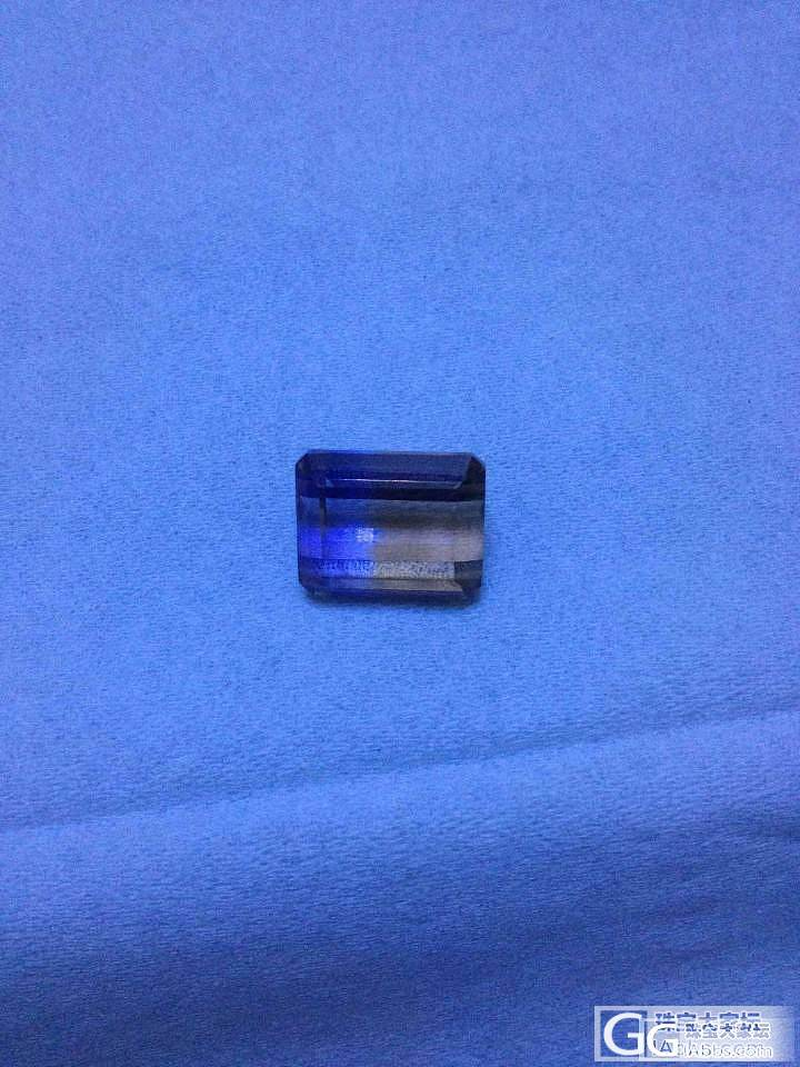 这种紫黄晶戒面国内多少一克拉,国外多带了一些_刻面宝石