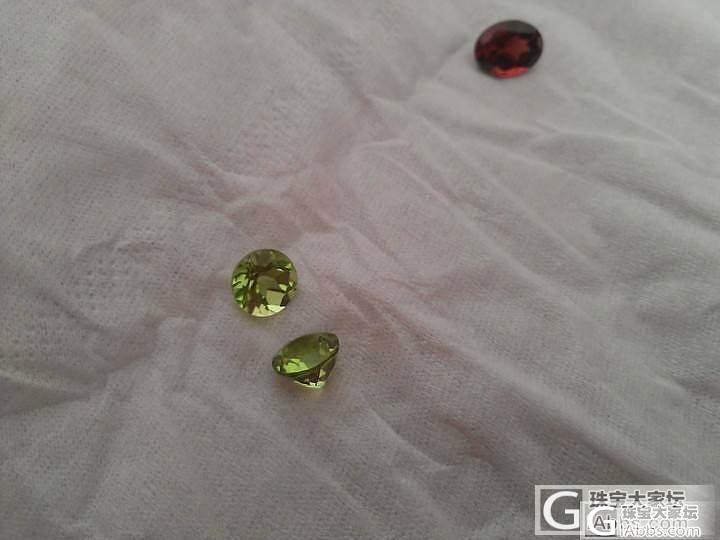 大家帮忙看看是不是橄榄石.石榴石吗??_石榴石刻面宝石