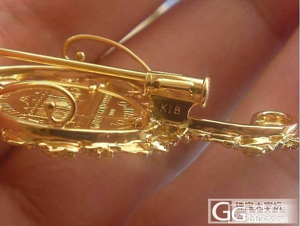 维也纳足金金币 18k玫瑰花缠绕音符..._金