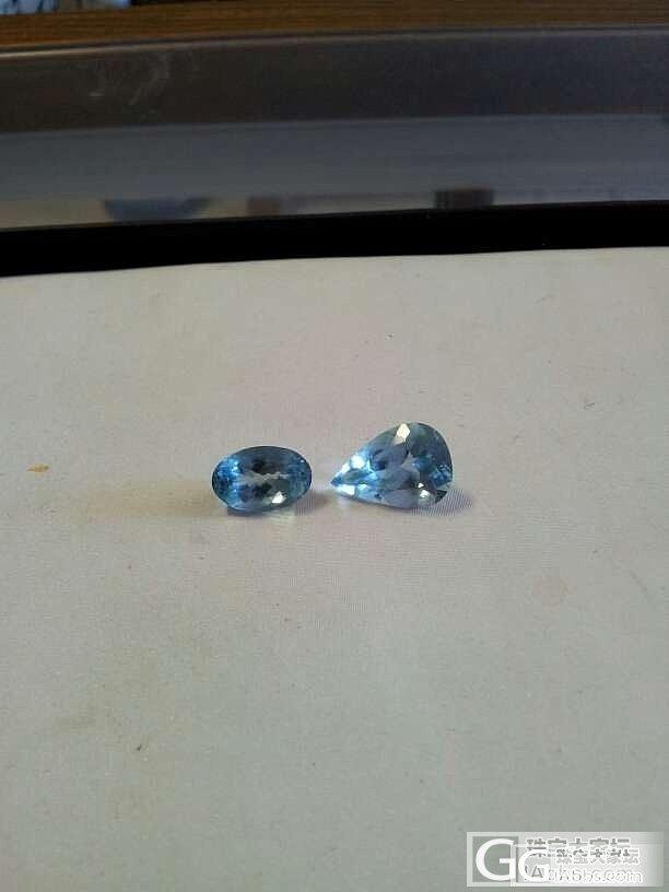 3-8克拉收藏级别颜色的海蓝_宝石