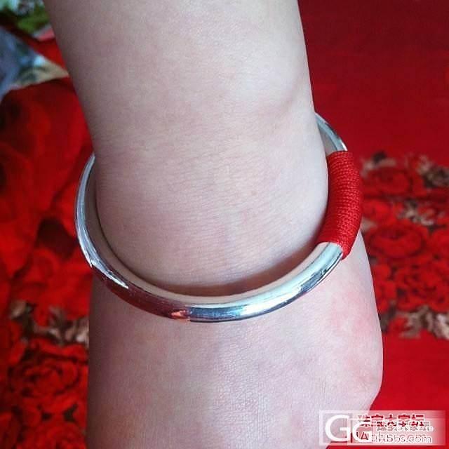 手腕间的灵动——悦意_手镯银