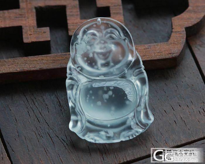 【史书翡翠】冰种精品蛋面+木那玻璃佛..._翡翠
