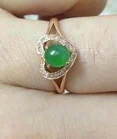 【心怡珠宝镶嵌】两款戒指,请大家评哪..._珠宝