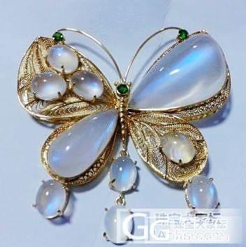 梦幻的月光蝴蝶……_月光石