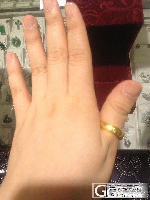 16号父亲节的小戒指_戒指金
