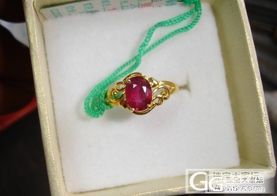 几个红宝石戒指便宜卖了_宝石
