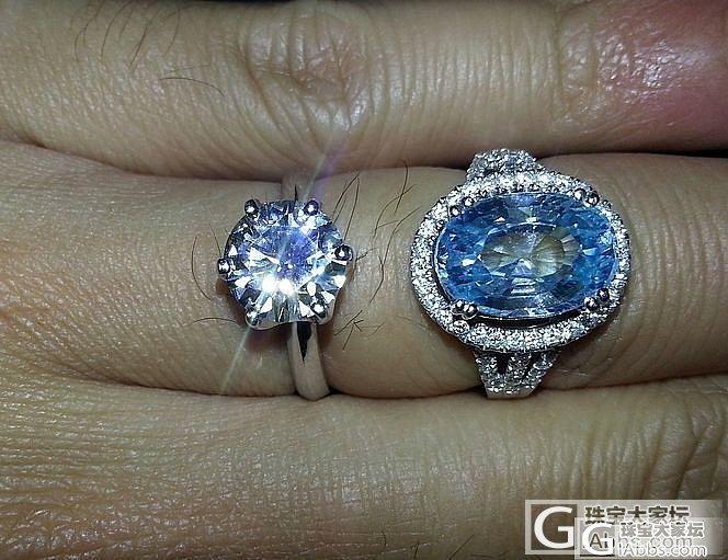 几天来看莫桑石和钻石得争论,我也做了..._莫桑石钻石