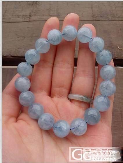 这2个海蓝宝的手链可以考虑入吗?_海蓝宝