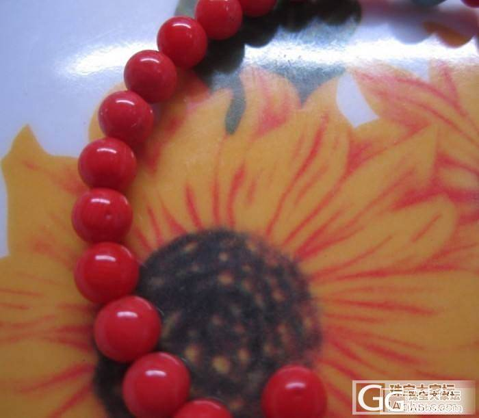 上批出完了在来一批MOMO红珊瑚桶珠..._有机宝石