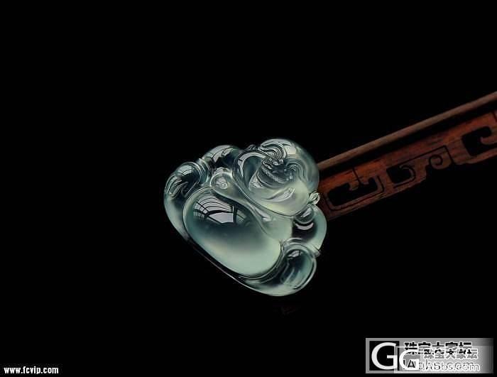 传世翡翠---玻璃佛公---值得收藏_翡翠