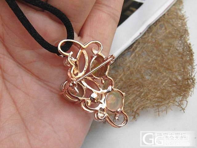 曼德理925银---胸针吊坠二用款_镶嵌珠宝