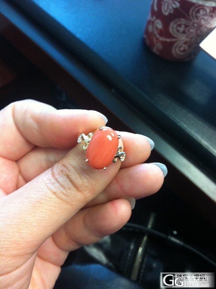 一个6卡多的momo戒指_戒指珊瑚