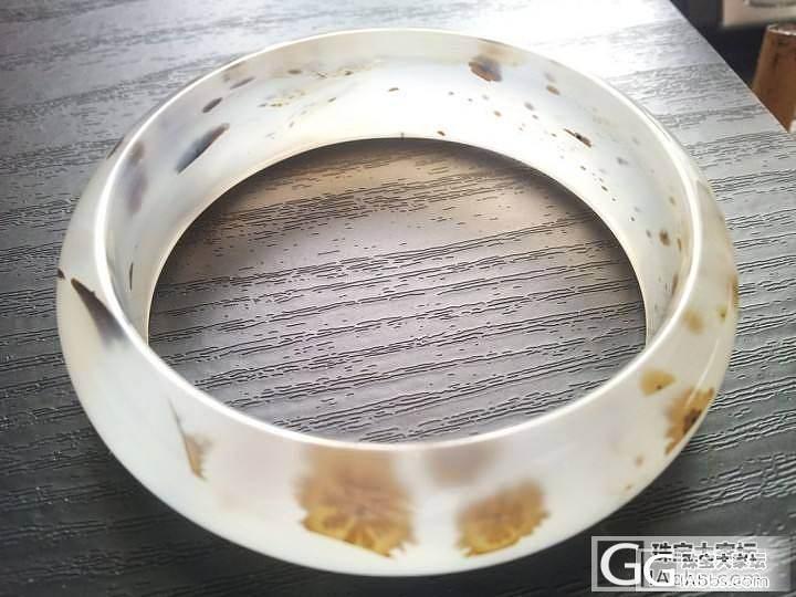 新买的水草玛瑙手镯== 2000大洋_玛瑙