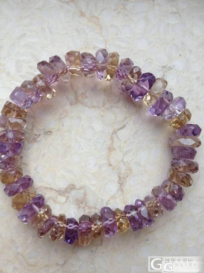 新手入的一些水晶,大家来帮我看看把_宝石