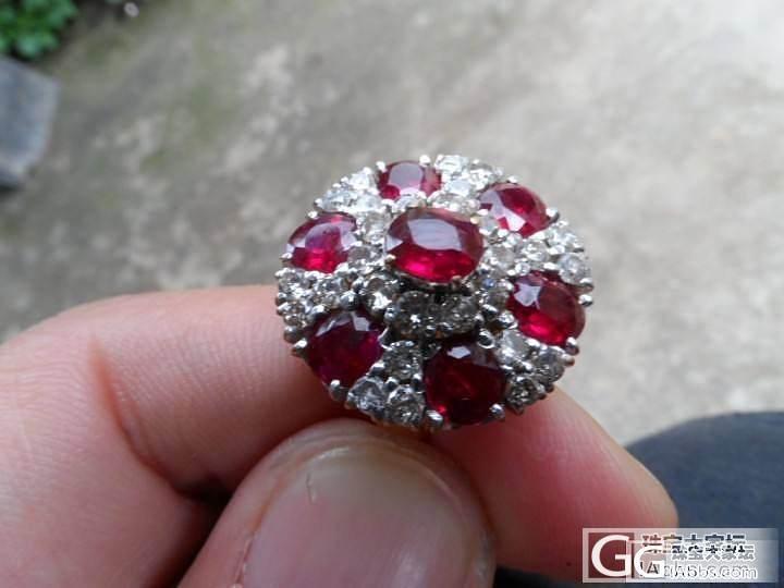 缅甸红宝石钻戒_红宝石