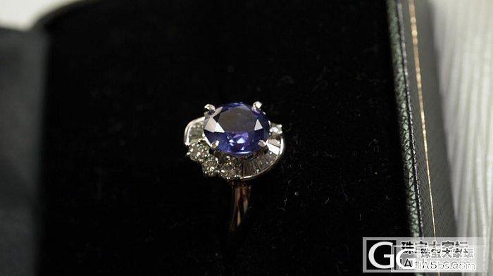 一个3.5克拉的无烧蓝宝戒指~_蓝宝石