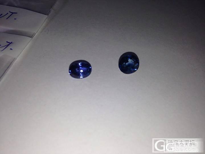 长草一个天然无烧蓝宝,大家看几钱入手..._蓝宝石