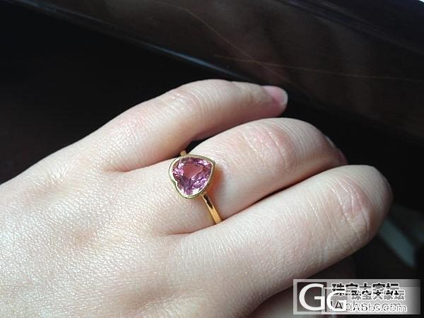 本本家做的6个戒指,花枝和碧玺新鲜出炉_戒指金