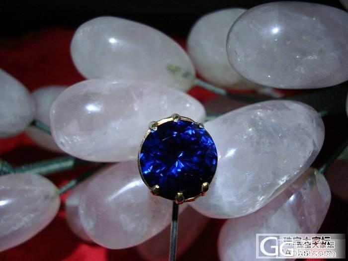 超大 顶级皇家蓝宝石 大家来围观啦_蓝宝石