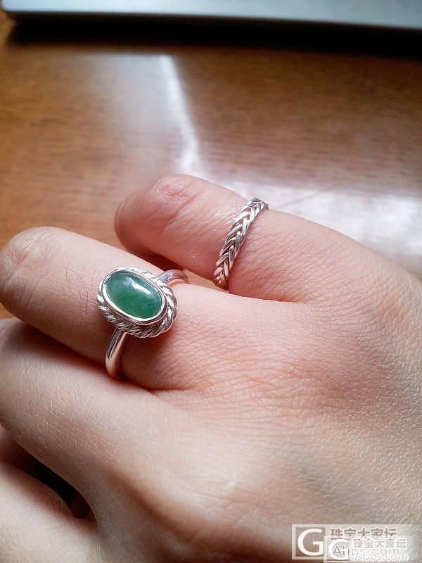 带来幸福与幸运的戒指_翡翠戒指银