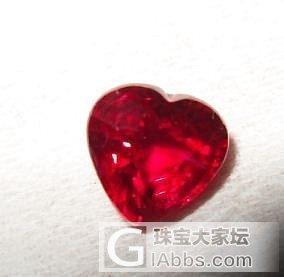 附上最近买的一款红宝_红宝石