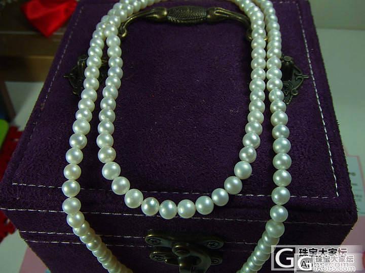 5-6mm天然淡水养殖珍珠项链毛衣链..._有机宝石
