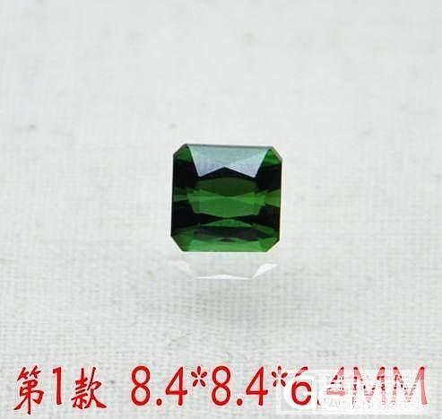 完美晶体绿碧玺_宝石