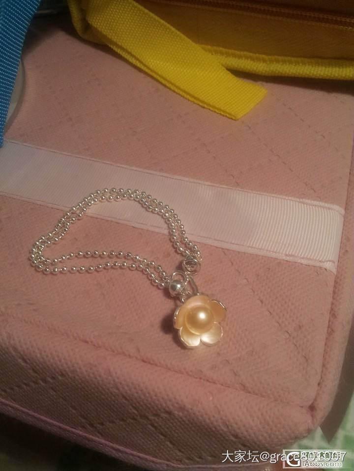 我的990银珠手链,美貌,百搭啊!_手链银