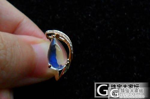 【彩石记】18k玫瑰金钻石镶嵌玻璃月..._宝石