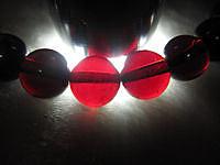 南非玻璃体酒红石榴石终于到货了,一图..._宝石