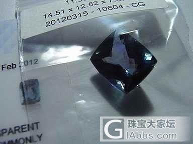 9600出售一颗11.30克拉坦桑石_宝石
