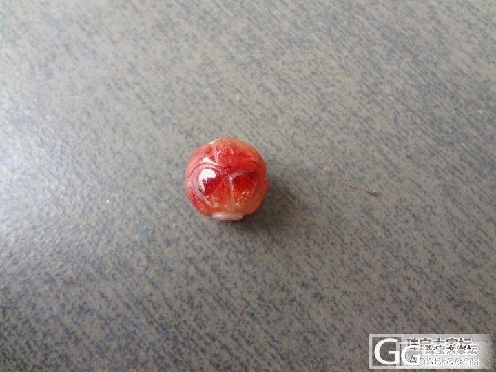 红色小珠子!请指教!谢谢!_翡翠