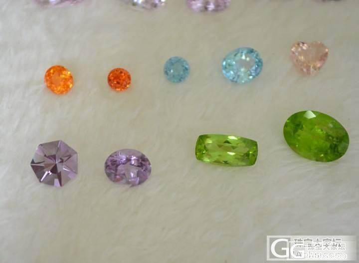 发一下小店的各种石头 价格十分优惠 碧玺 锂辉石 海蓝 托帕石榴石橄榄石 澳洲欧..._宝石