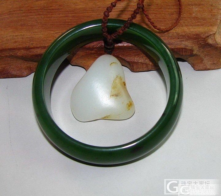 【新疆的猫】44.9克,浓郁菠菜绿色..._传统玉石