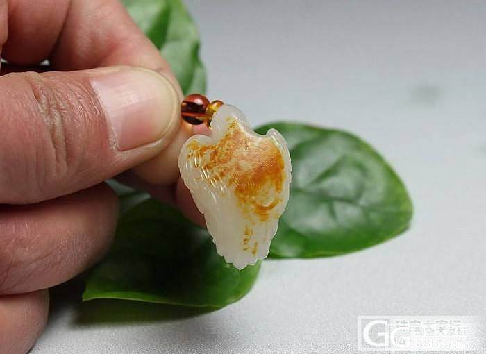 【和田玉】洒金红皮 白玉籽料 英雄如..._传统玉石