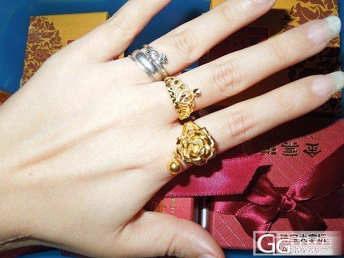 闲的无聊,主要晒手,戒指其次~~吼吼..._戒指金