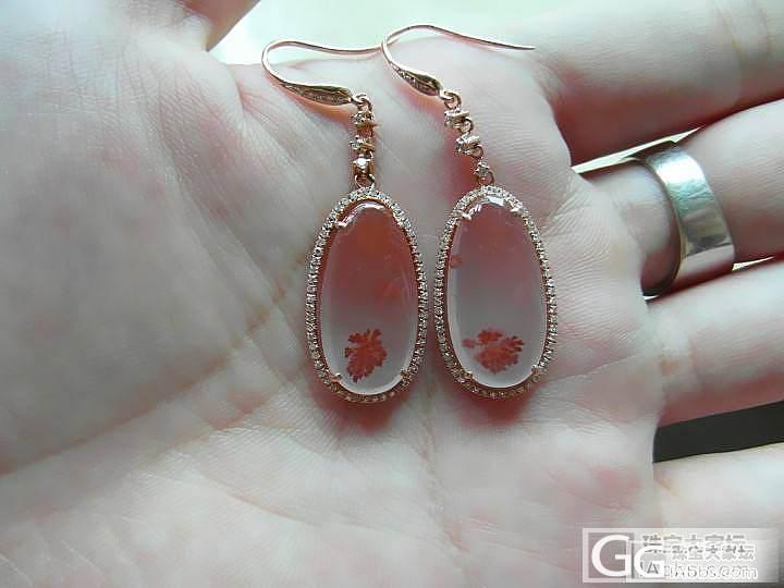 南红玛瑙中的极品,水粉色!透明状,镶..._翡翠