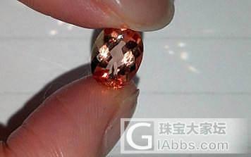 巴西矿区购买宝石——帝王托帕石_宝石
