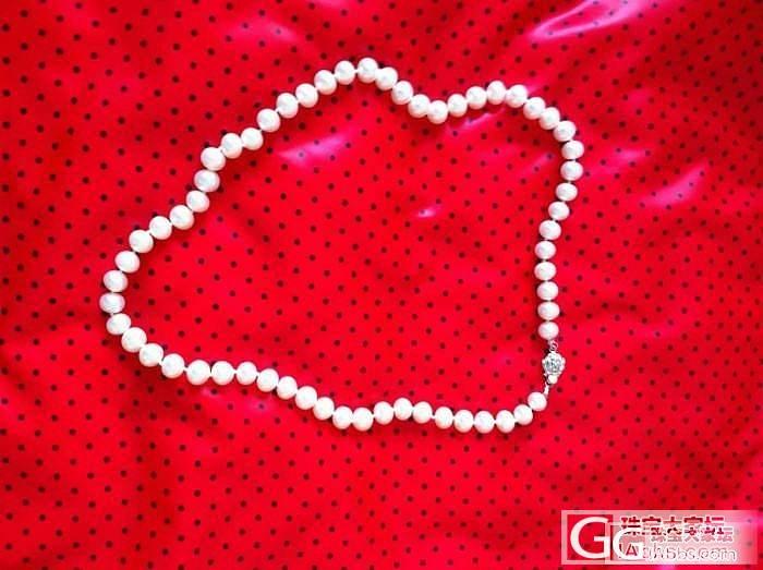珍珠毛衣链、项链及手链。_珍珠