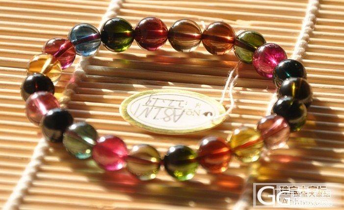 颜色漂亮,晶体非常透的碧玺,一起来欣..._宝石