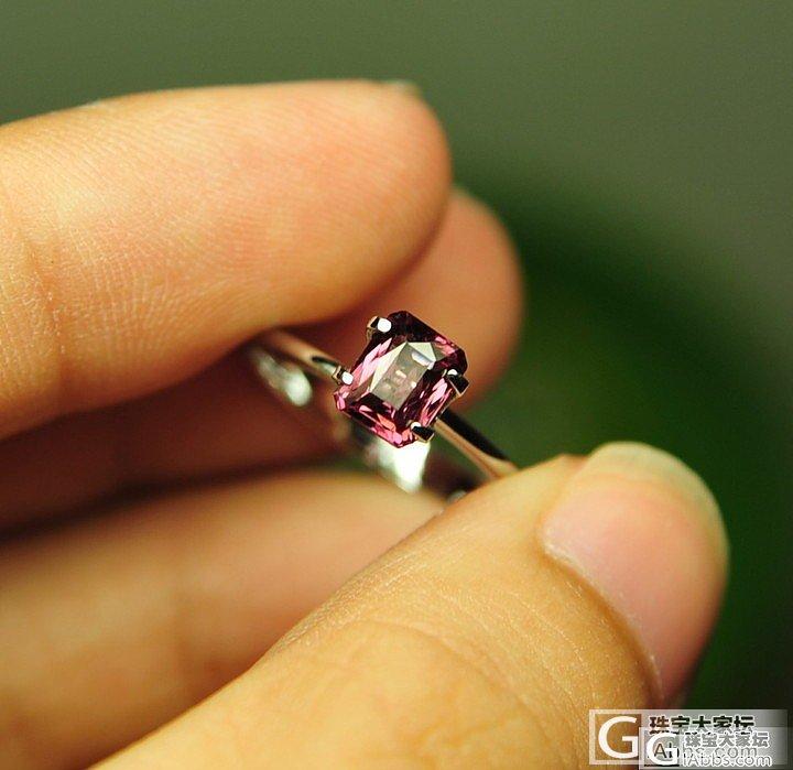 DSP的小精品:1.19ct变色性较..._宝石