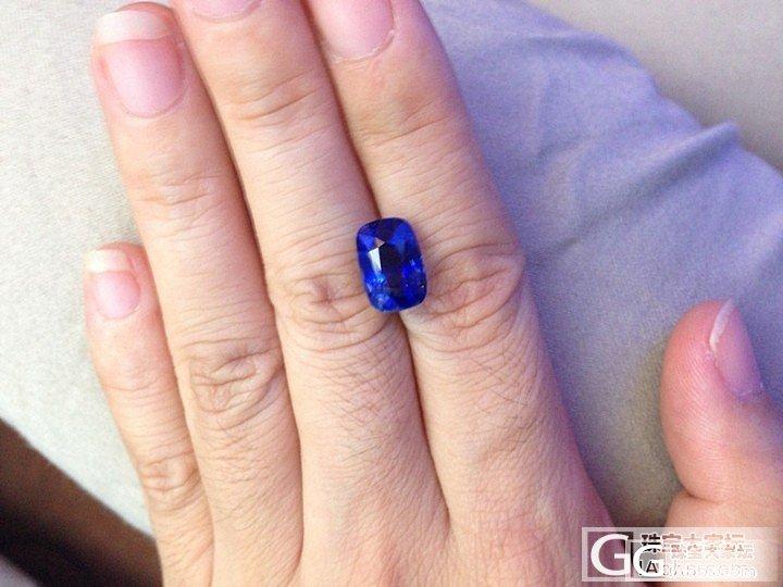 新看好的一颗6卡多的蓝宝_蓝宝石