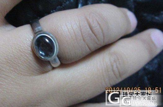 有味道的925镶碧玺戒指``````..._银