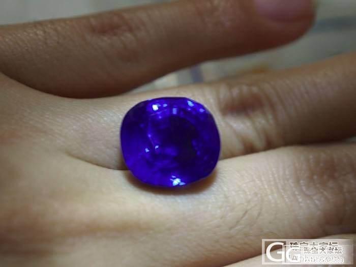 18ct完美斯里兰卡无热处理蓝宝石一..._宝石