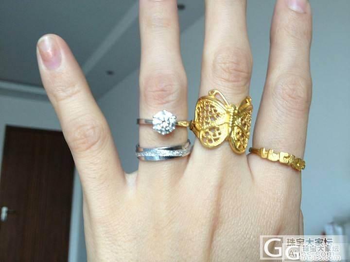 小秀一下家底,大家看看哪件好~_手镯项链戒指金