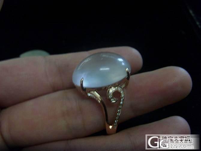 新鲜出炉的蛋面戒指---还火热火热的..._镶嵌珠宝