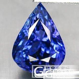 出售一颗10.23克拉的坦桑石_宝石