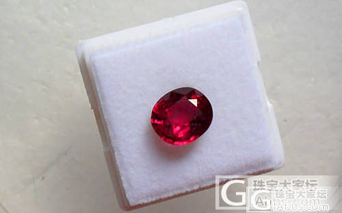 【彩石记】Rubellite近红宝色..._宝石